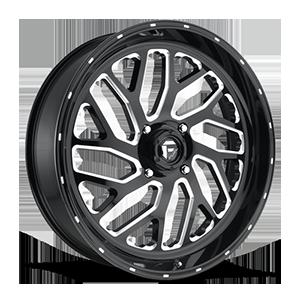 Triton - D581 UTV Gloss Black & Milled