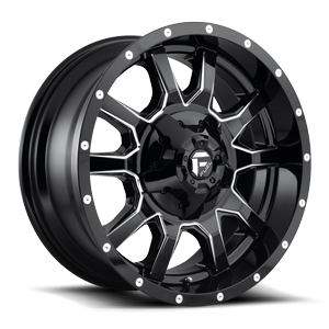 Vandal - D627 20x9 +20 | Gloss Black & Milled