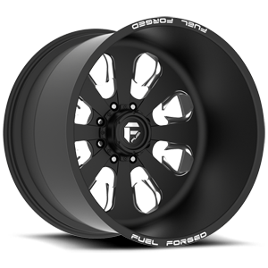FF24 - 8 lug Matte Black & Milled