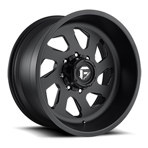 FF39D - 8 Lug Super Single Front Matte Black