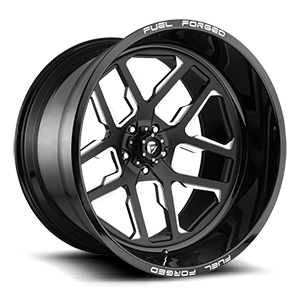 FFC45 - 5 Lug | Concave Gloss Black & Milled