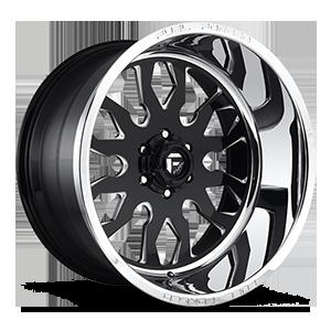 FF37 Gloss Black & Milled w/ Polished Lip