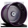 FF01 Illusion Purple & Milled