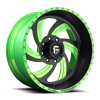 FF10 Matte Black | Lime Candy Green