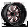 FF12 Gloss Black w/ Crimson Red