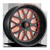 FF19 - UTV Matte Black with Orange