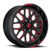 FF19 Gloss Black w/ Candy Red