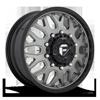 FF19D - Front Matte Titanium w/ Gloss Black Lip