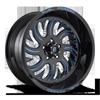 FF36 Gloss Black w/ Custom Blue