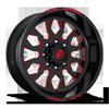FF37 Gloss Black w/ Red Windows