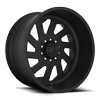 FF39D -10 Lug Super Single Front Matte Black