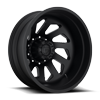 FF39D- 10 Lug Rear Matte Black