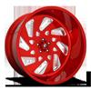FF40 - 5 LUG Candy Red