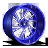 FF41 - 6 Lug Anodized Blue/Milled