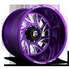 FF41 - 8 Lug Candy Purple w/ Milled Windows