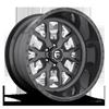 FF45 - 6 Lug Gunmetal w/ Gloss Black