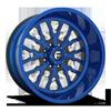 FF45 - 8 Lug Blue Burg w/ Magnetic Metallic Windows