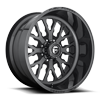 FF45 - 8 Lug Magnetic Metallic w/ Gloss Black Windows