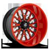FF45 - 8 Lug Competition Orange w/ Black accents