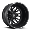 FF45D - Dually Rear 20 x 8.25 Forged Matte Black & Milled