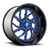 FF51 - 6 Lug Illusion Blueberry
