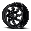 FF52D - Rear Gloss Black & Milled