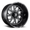 FF59 - 8 Lug Black & Milled