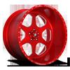 FF69 Gloss Black w/ Red Windows
