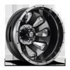 Flow Dually Rear - D269 Granite Crystal Metallic/Gloss Black