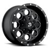 Revolver - D525 Matte Black & Milled