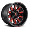 Hardline - D621 Gloss Black w/ Candy Red