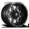 Maverick - D538 20x12 -44 | 8 Lug | Black & Milled