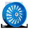 FF30 - UTV Candy Blue Over Polish