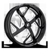 FF51 - UTV Gloss Black & Milled