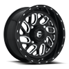 Triton - UTV 16x7 | 4 Lug | Gloss Black & Milled