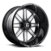 FF20 - 8 LUG Black & Milled