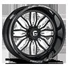 FF66 - 8 Lug Black & Milled