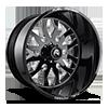 FF37 Gloss Black & Milled 28x16