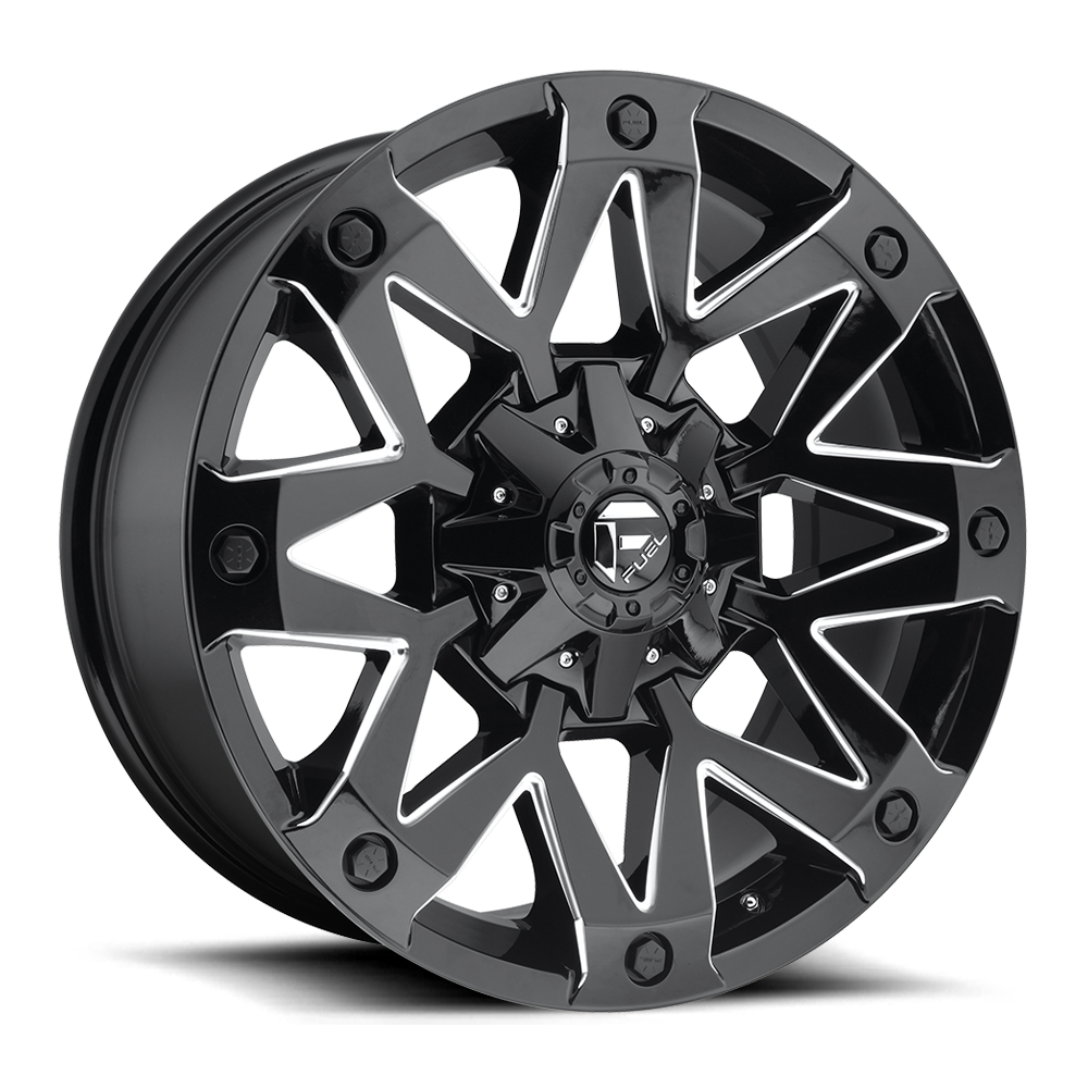 Ambush D555 Fuel Off Road Wheels