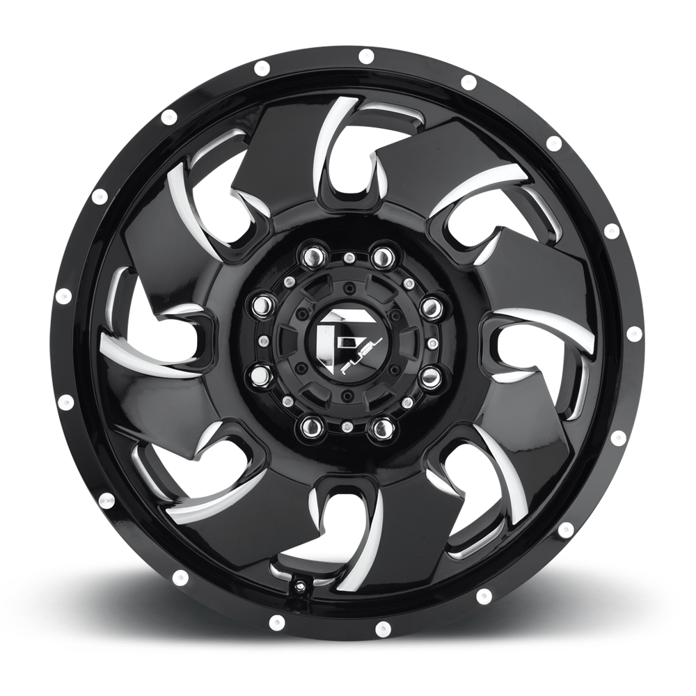 Cleaver Dually Front - D574 - Fuel Off-Road Wheels
