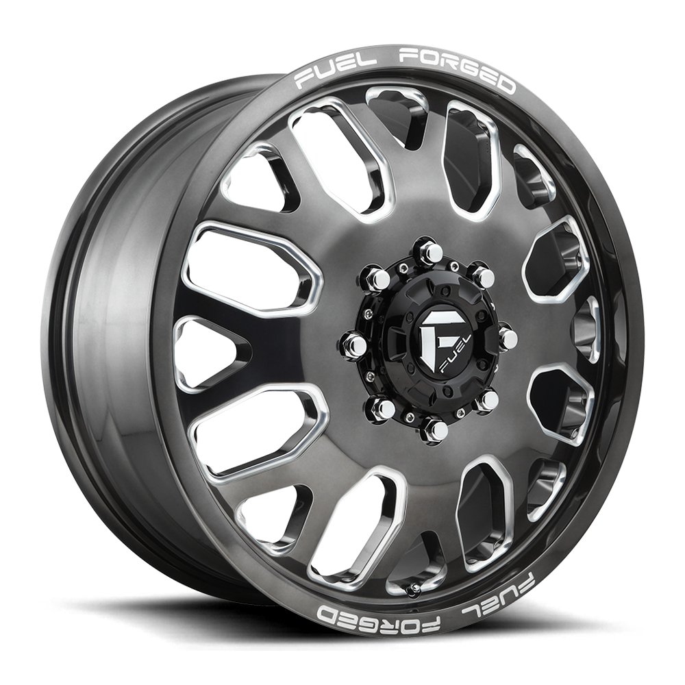 Fuel Dually Wheels Ff19d Front