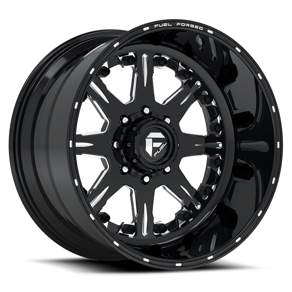 Forged Parts Black And White : Ff fuel off road wheels