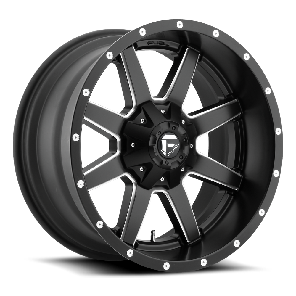 Maverick - D538 - Fuel Off-Road Wheels