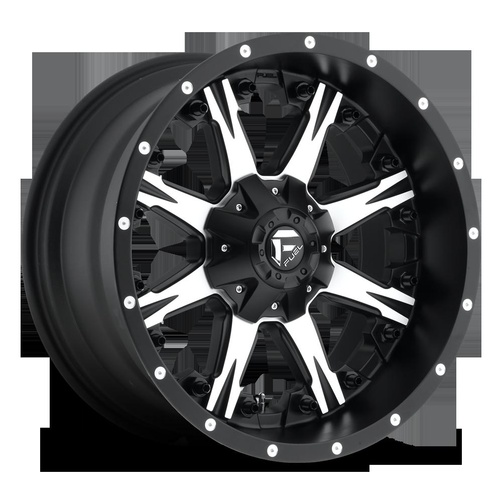 Nutz D541 Fuel Off Road Wheels