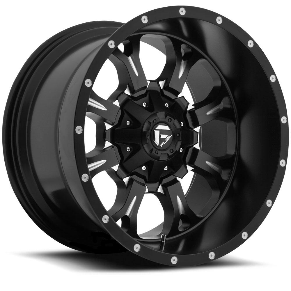 Fuel Deep Lip Wheels Krank D517 Wheels Amp Krank D517