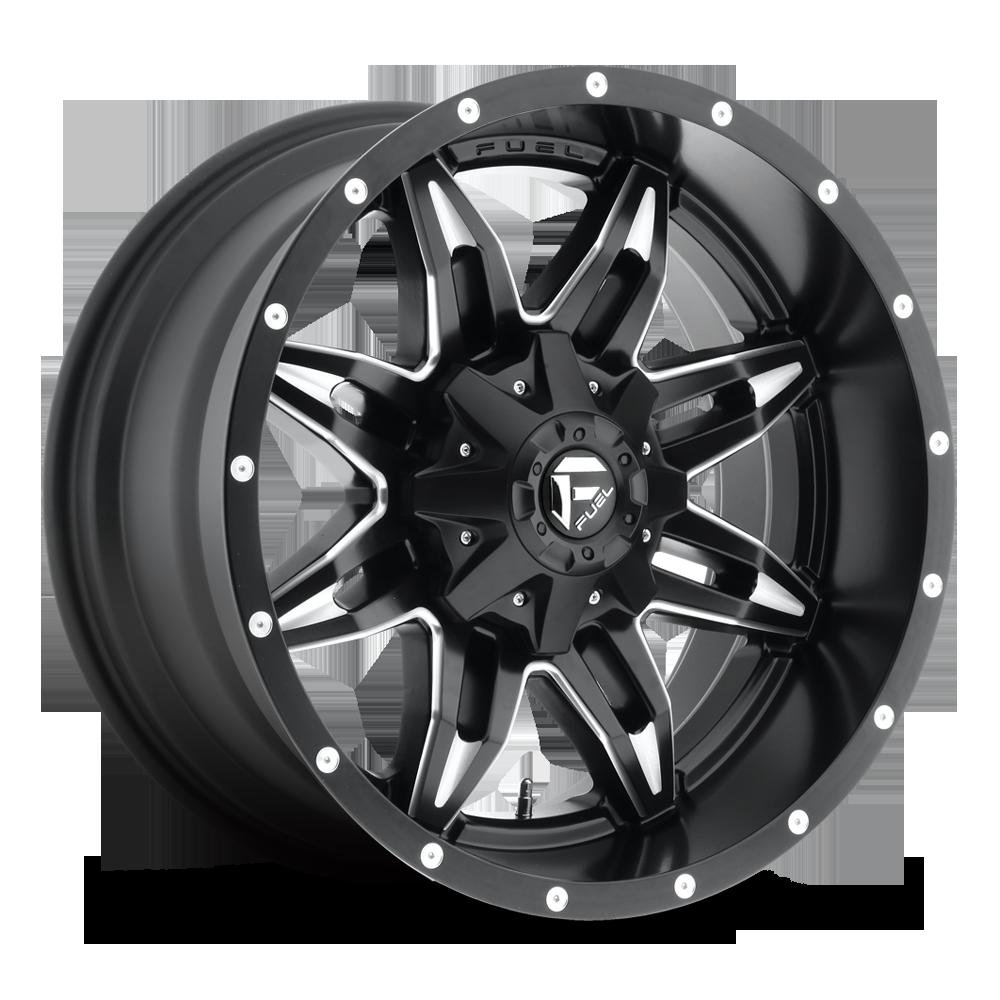 Lethal D567 Fuel Off Road Wheels