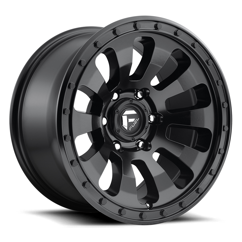 Tactic D630 Fuel Off Road Wheels